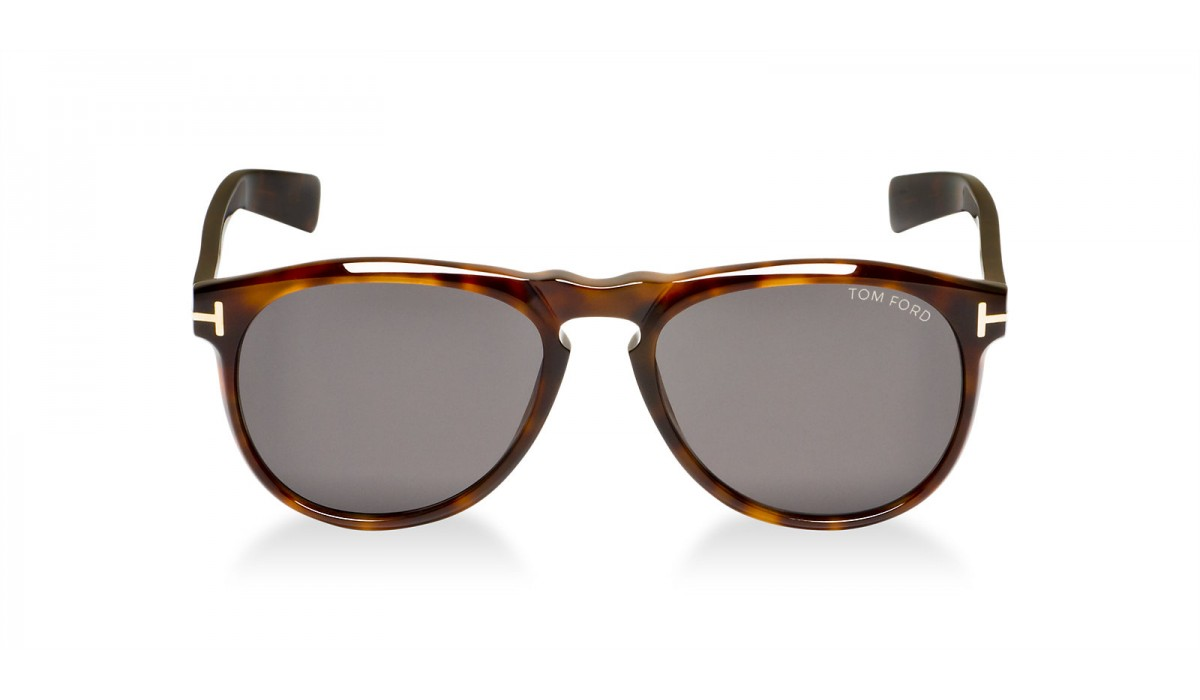 TOM FORD Flynn 0291 DARK HAVANA/GREY GREEN POLARIZED