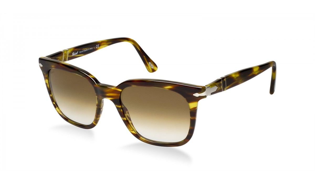 PERSOL 2999 STRIPED BROWN/BROWN SHADED
