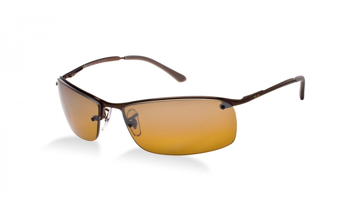 d96916d90a2 Ray Ban 3183 Sidestreet BROWN POLARIZED BROWN SILVER MIRROR SHADED